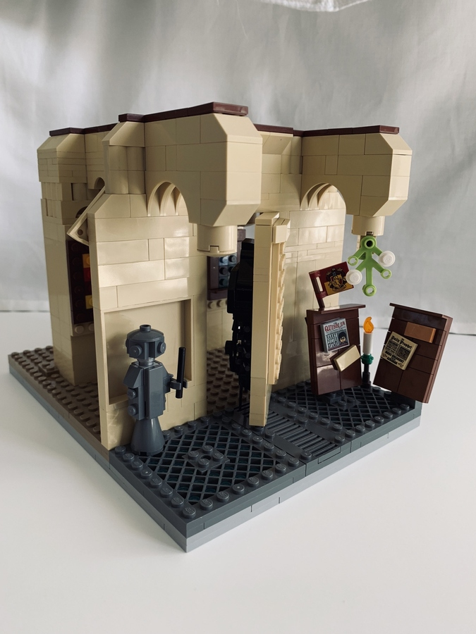 Lego Ideas Magical Builds Of The Wizarding World Hogwarts Room