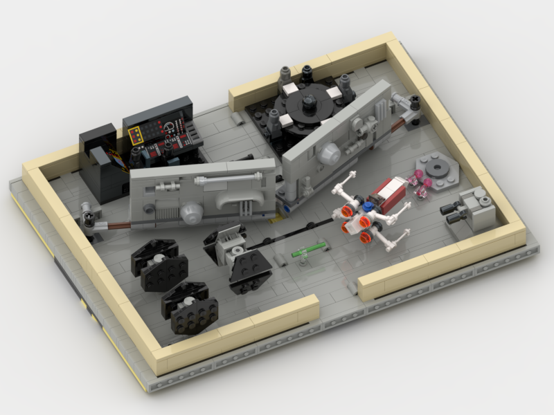 LEGO IDEAS - Create a Bricktastic Pop-Up Story! - Death Star