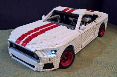 Lego Ideas Celebrate Your Favorite Ford Mustang In A Beautiful