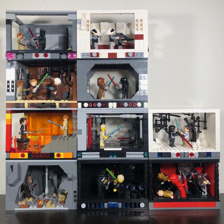LEGO IDEAS - The Greatest Battles Built by You! - LEGO Star Wars Box