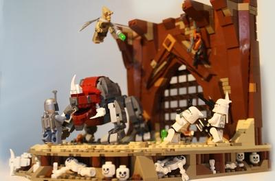 Lego Ideas Product Ideas Star Wars Geonosis Arena