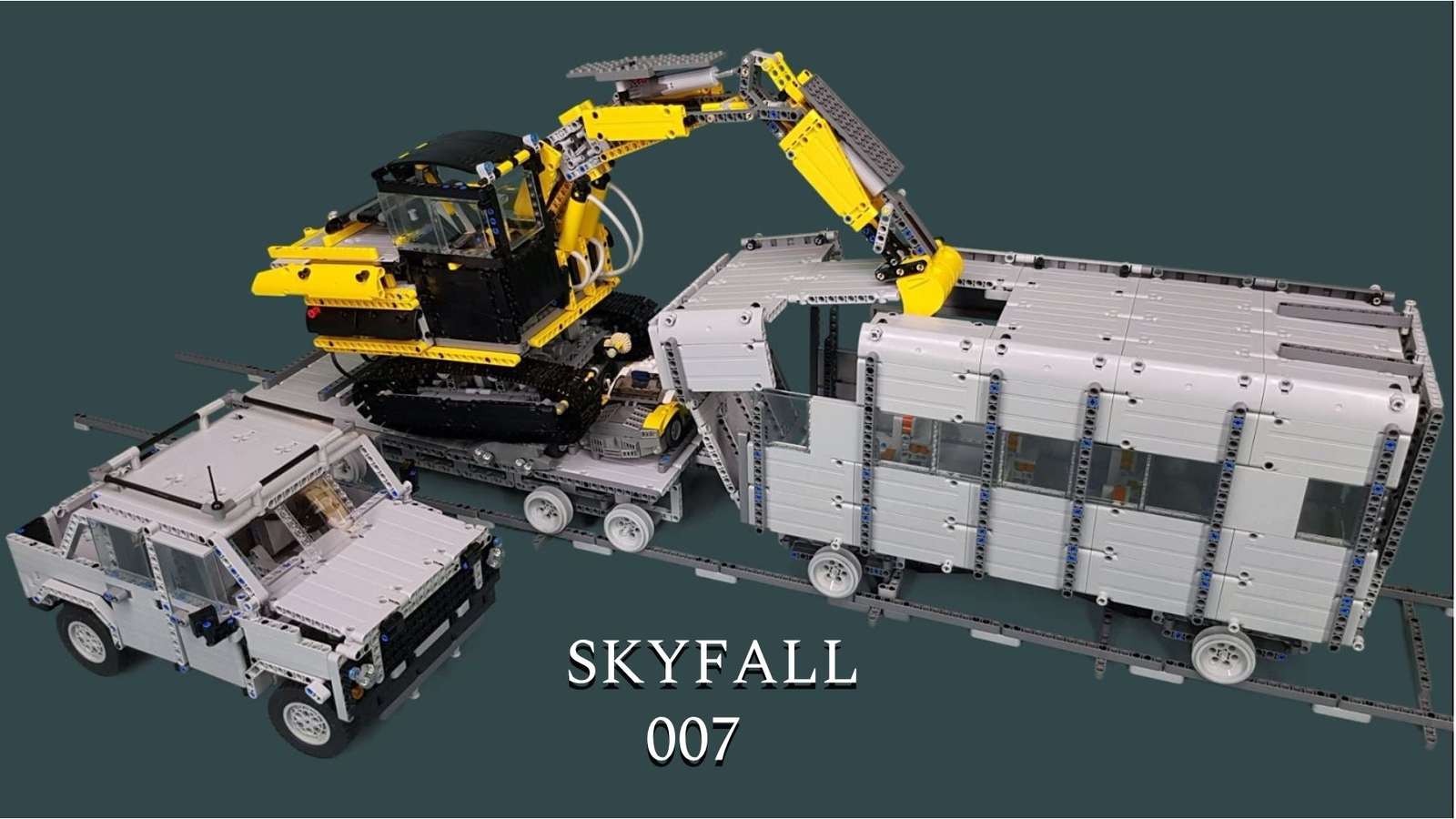 LEGO IDEAS - Build something spectacular from the world of 007
