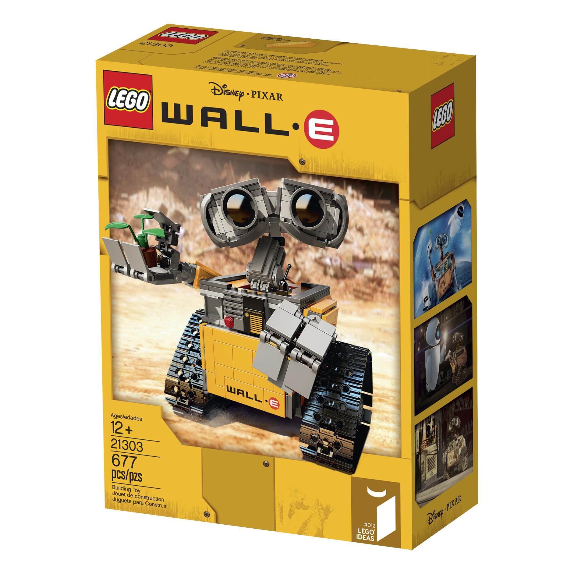 LEGO IDEAS - Blog - Introducing LEGO® Ideas #011 WALL•E