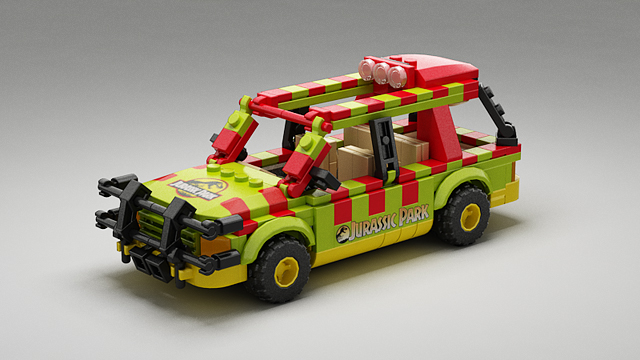 Lego Ideas Product Ideas Jurassic Park Explorer With Minifigs