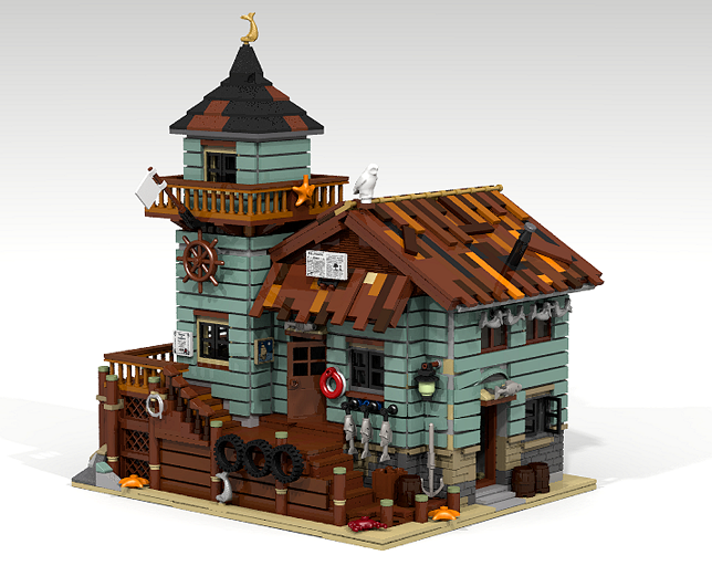 Lego Ideas Product Ideas Old Fishing Store