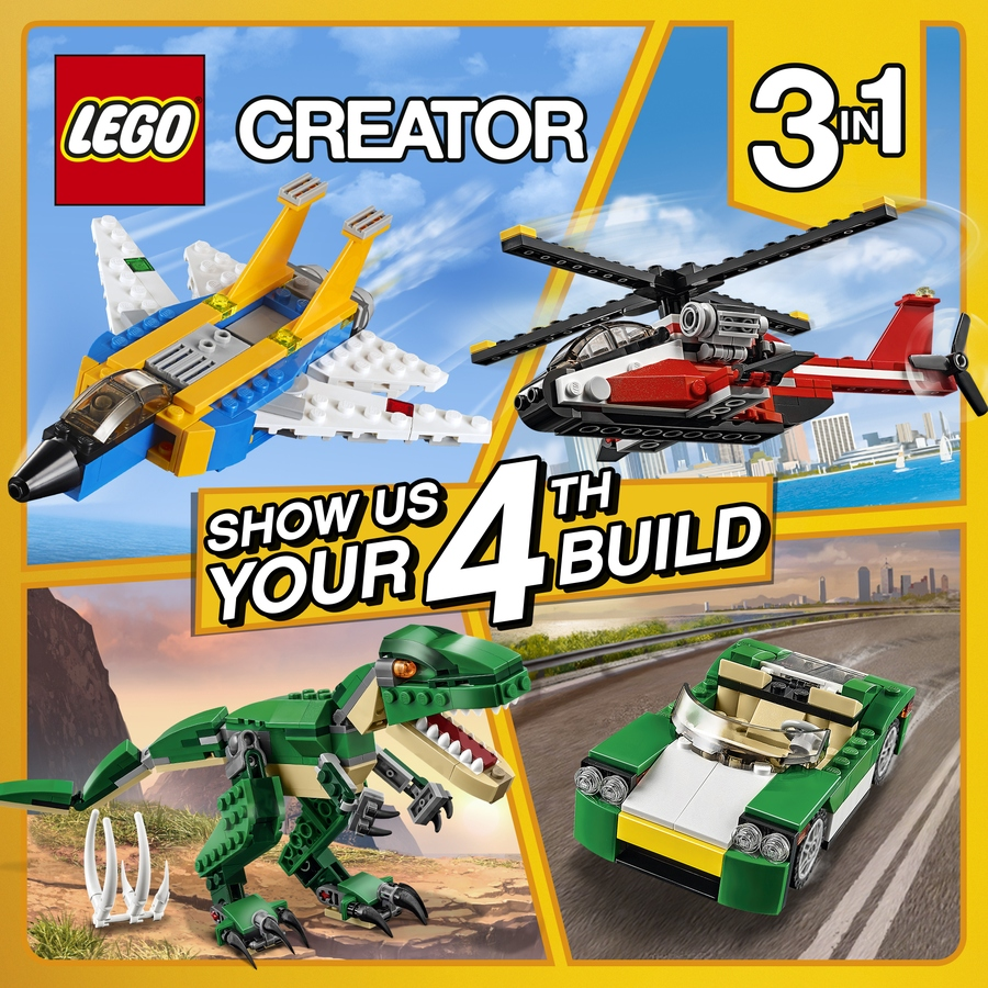 Lego Ideas Blog Creator 3in1 Fourth Build Challenge Is Live On