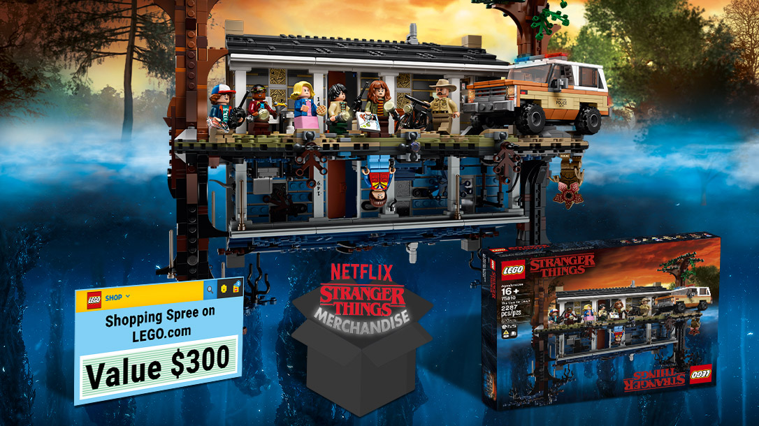 Concurs organizat de LEGO® Ideas: Iconically Stranger Things