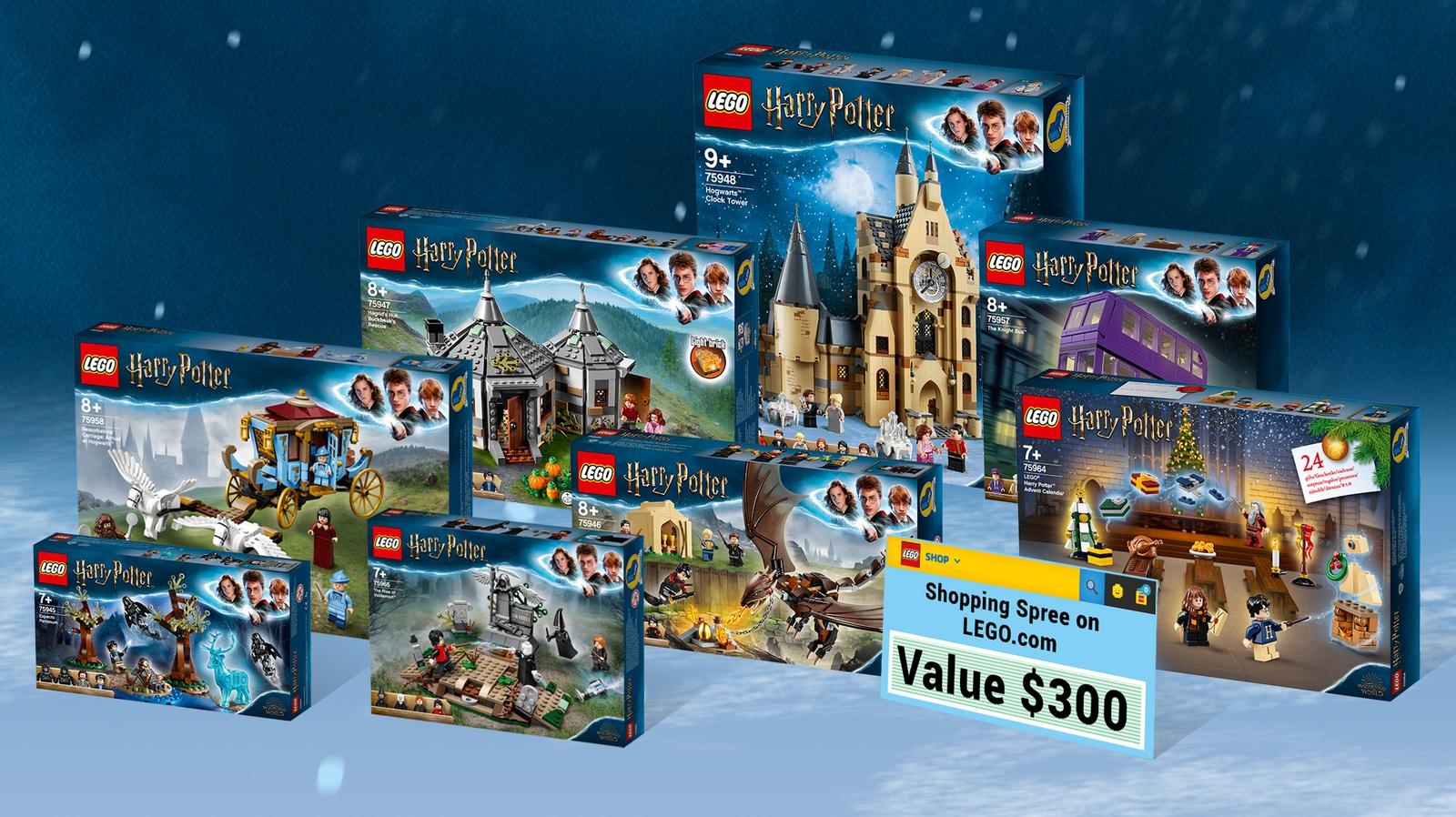 Concurs organizat de LEGO® Ideas: Recreating a Magical Harry Potter™ Holiday Scene!