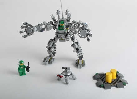 Lego Ideas Blog The Making Of The Exo Suit