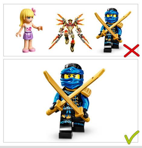 Lego The Ninjago Movie sticker-todos 6 bonus sticker nuevo