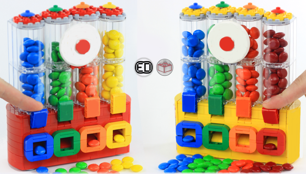 Lego Ideas Product Ideas Mms Chocolate Candy Dispenser