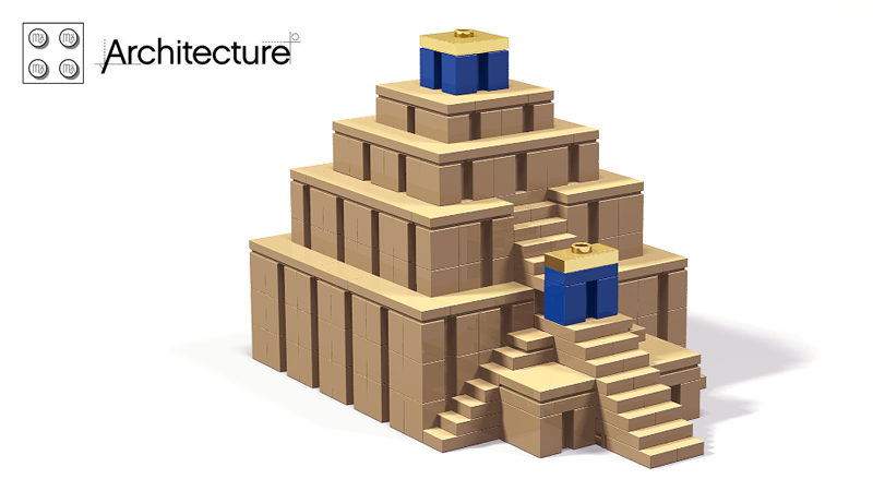 LEGO IDEAS - Product Ideas - Mesopotamian ziggurat (micro model)