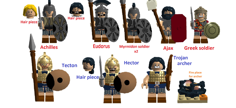 LEGO IDEAS - Product Ideas - Legend of Troy Beach battle