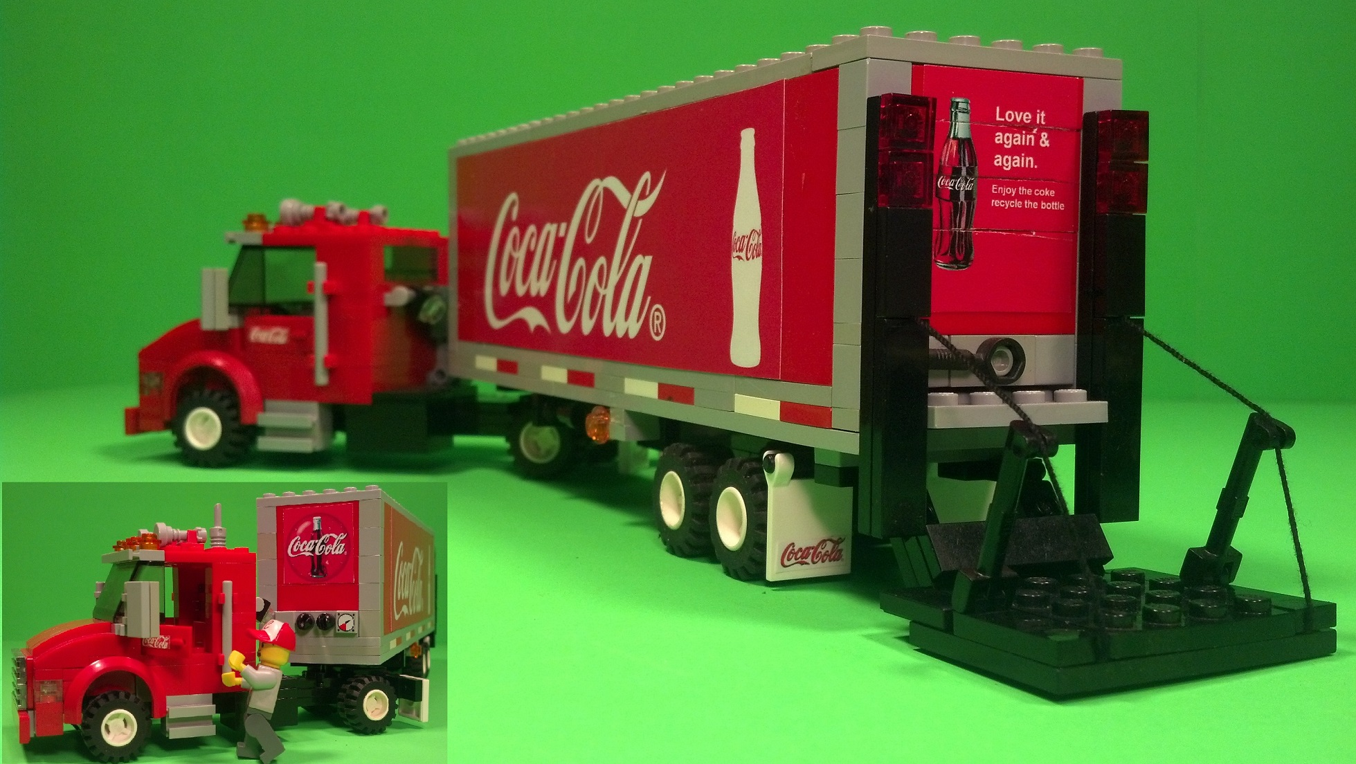ACCESSORY Lego Coke Coca-Cola 6pk Official//Genuine Lego NEW Food