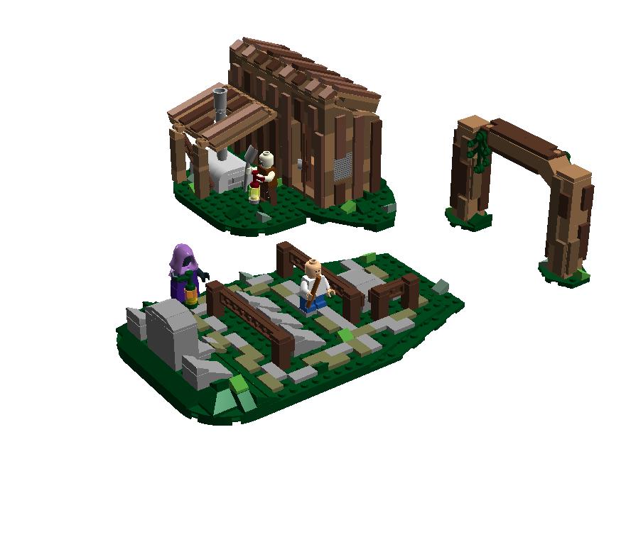LEGO IDEAS - Product Ideas - The Legend of Zelda: Ocarina of Time