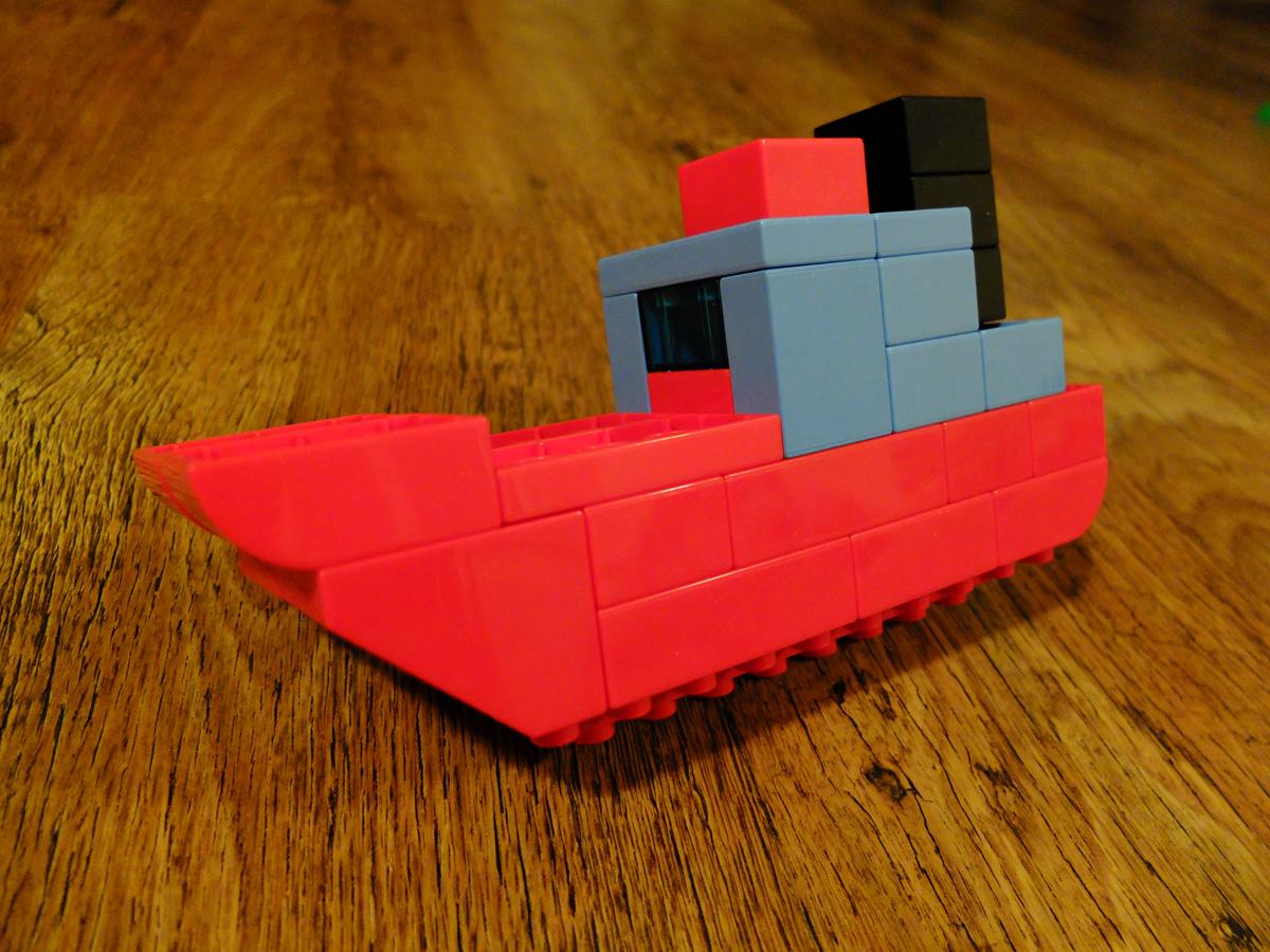 LEGO IDEAS - Duplo Ship