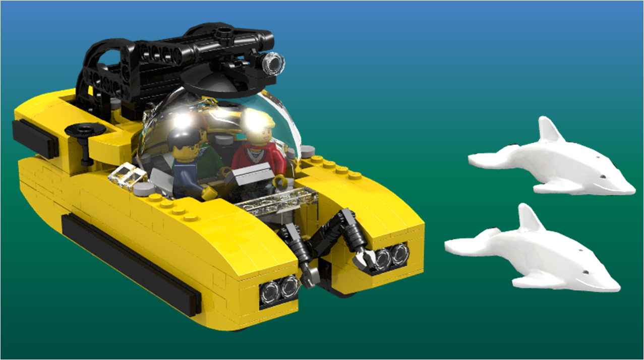 LEGO IDEAS - Product Ideas - Triton 3300/3 Submersible