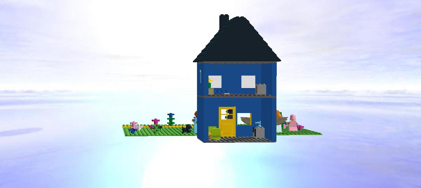 Wizard Of Oz Flying House LEGO IDEAS - Product I...