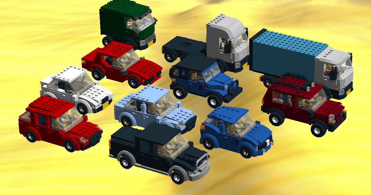 Lego Ideas Product Ideas Realistic Multiple Seat Cars On Mini