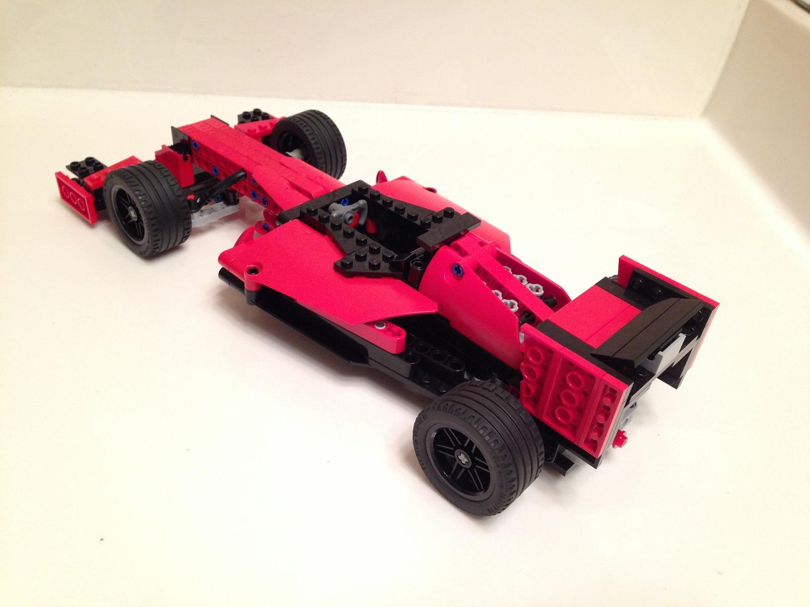 Lego Ideas Formula 1 Race Car