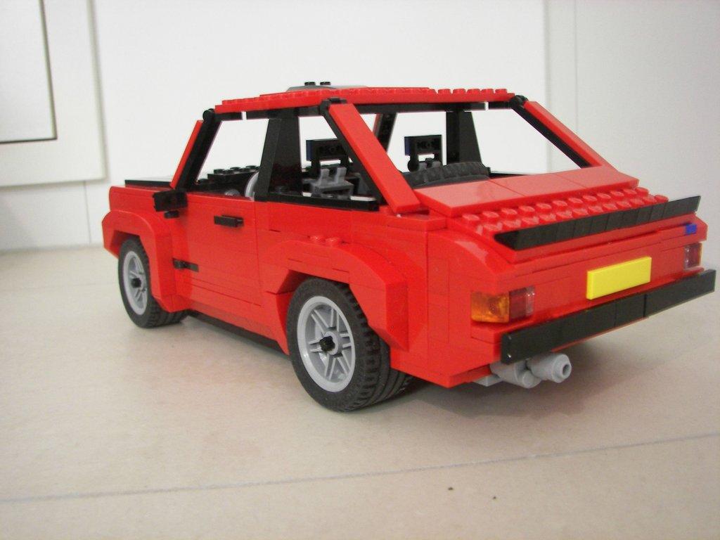 Lego Ideas Product Ideas Ford Escort Mk2 115 Scale
