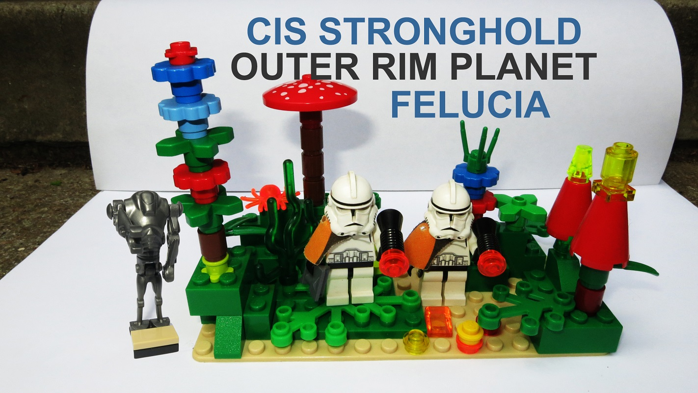 Lego Ideas Lego Star Wars Order 66 Collection Battle Of Felucia