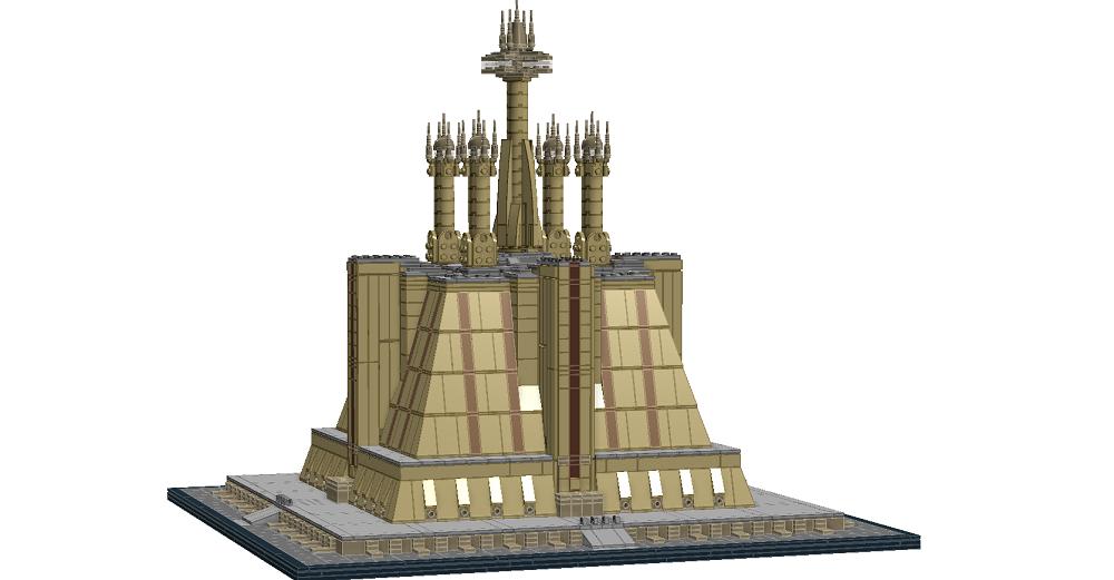 LEGO IDEAS - Product Ideas - The Jedi Temple