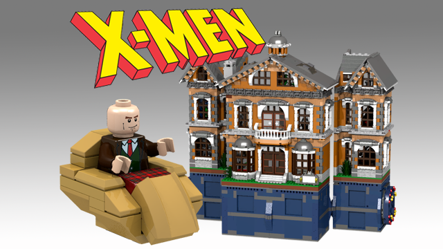 Lego Ideas Product Ideas X Men X Mansion