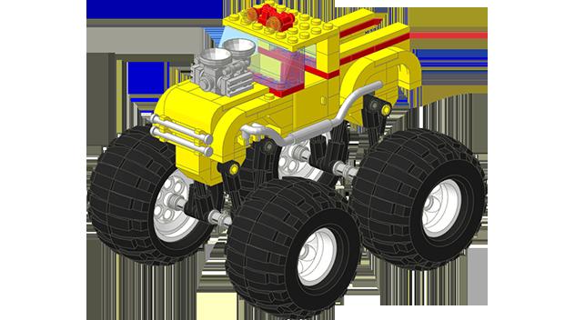 Lego Ideas Product Ideas Monster Truck