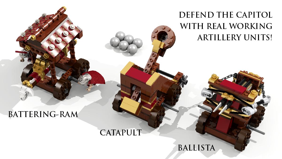 Lego Ideas Product Ideas Level 1 Julius Caesar Defends The