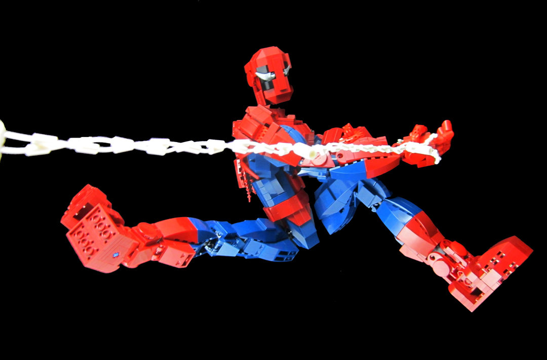 Lego Ideas Product Ideas Spider Man Ultra Pose Able Action Figure