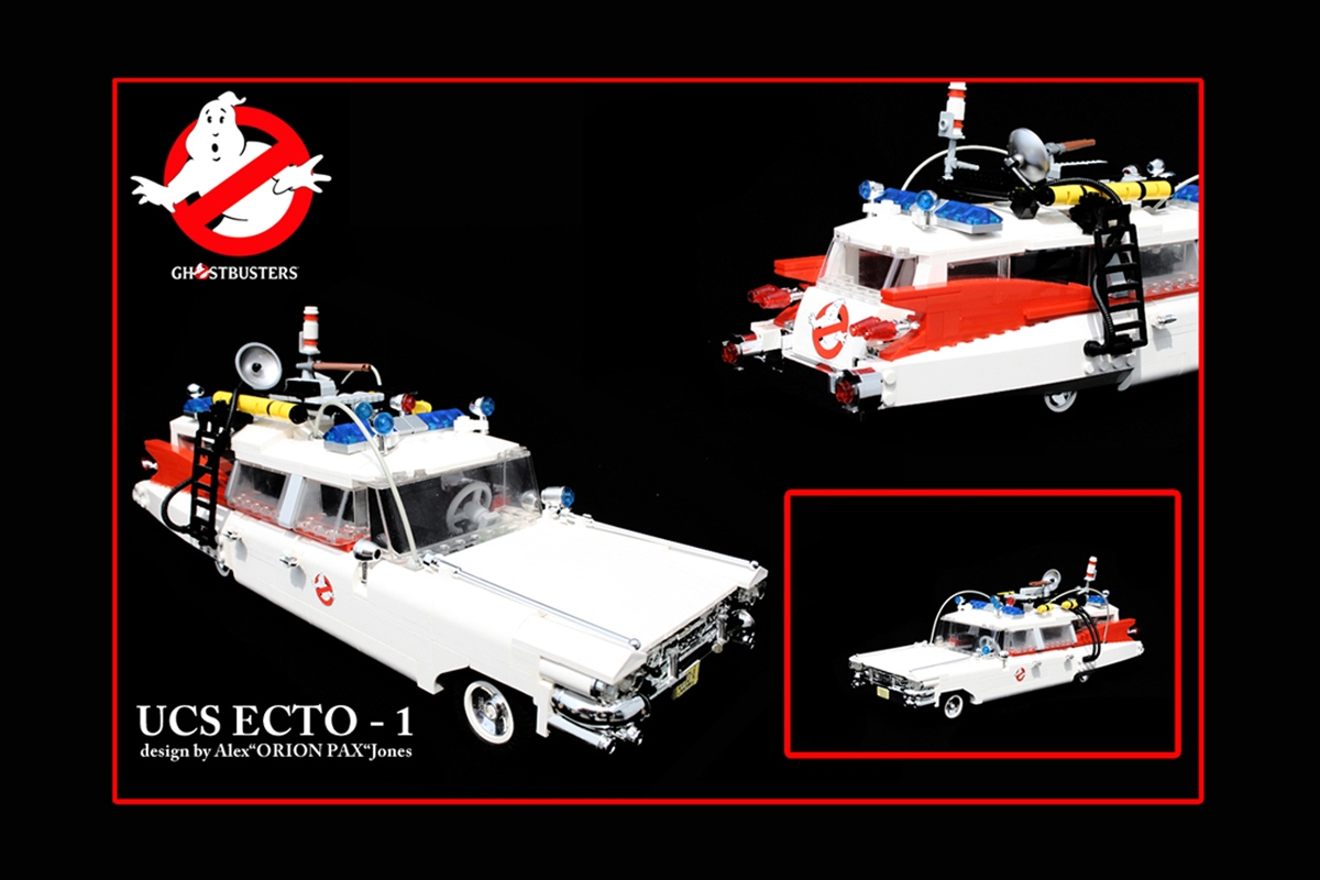 lego ideas product ideas ghostbusters ucs ecto 1. Black Bedroom Furniture Sets. Home Design Ideas