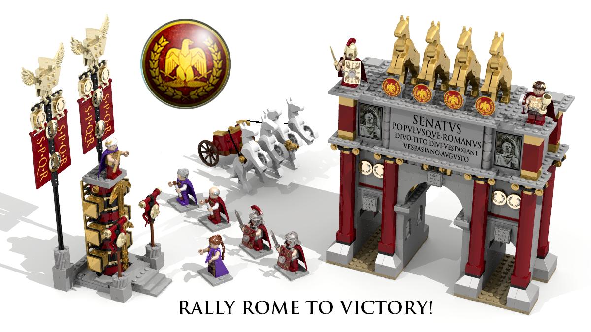 LEGO IDEAS - Product Ideas - Level 1: Julius Caesar Defends