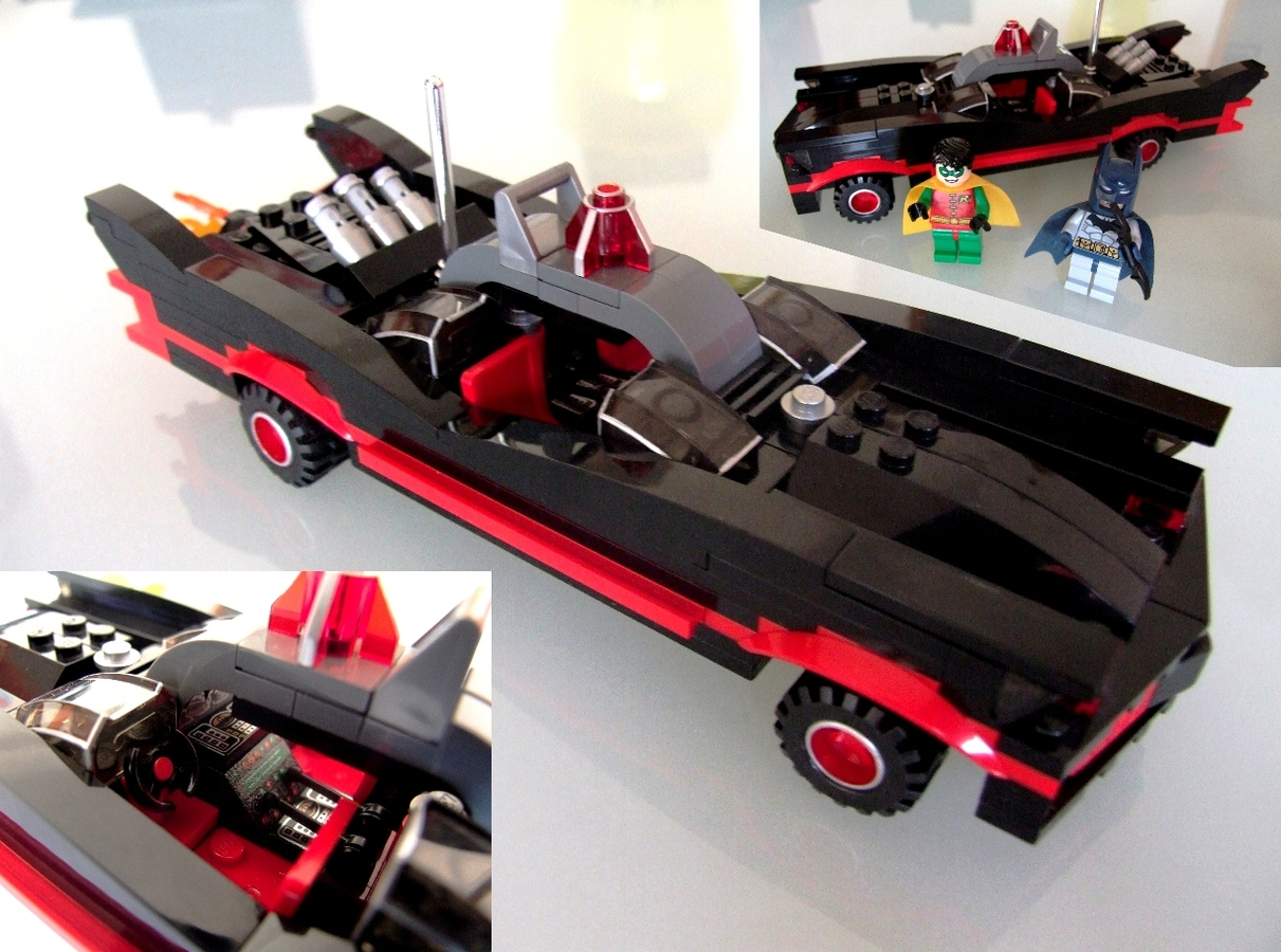 lego ideas product ideas batman classic batmobile 1960. Black Bedroom Furniture Sets. Home Design Ideas