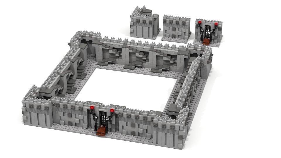Lego Ideas Product Ideas Mini Castle Modular