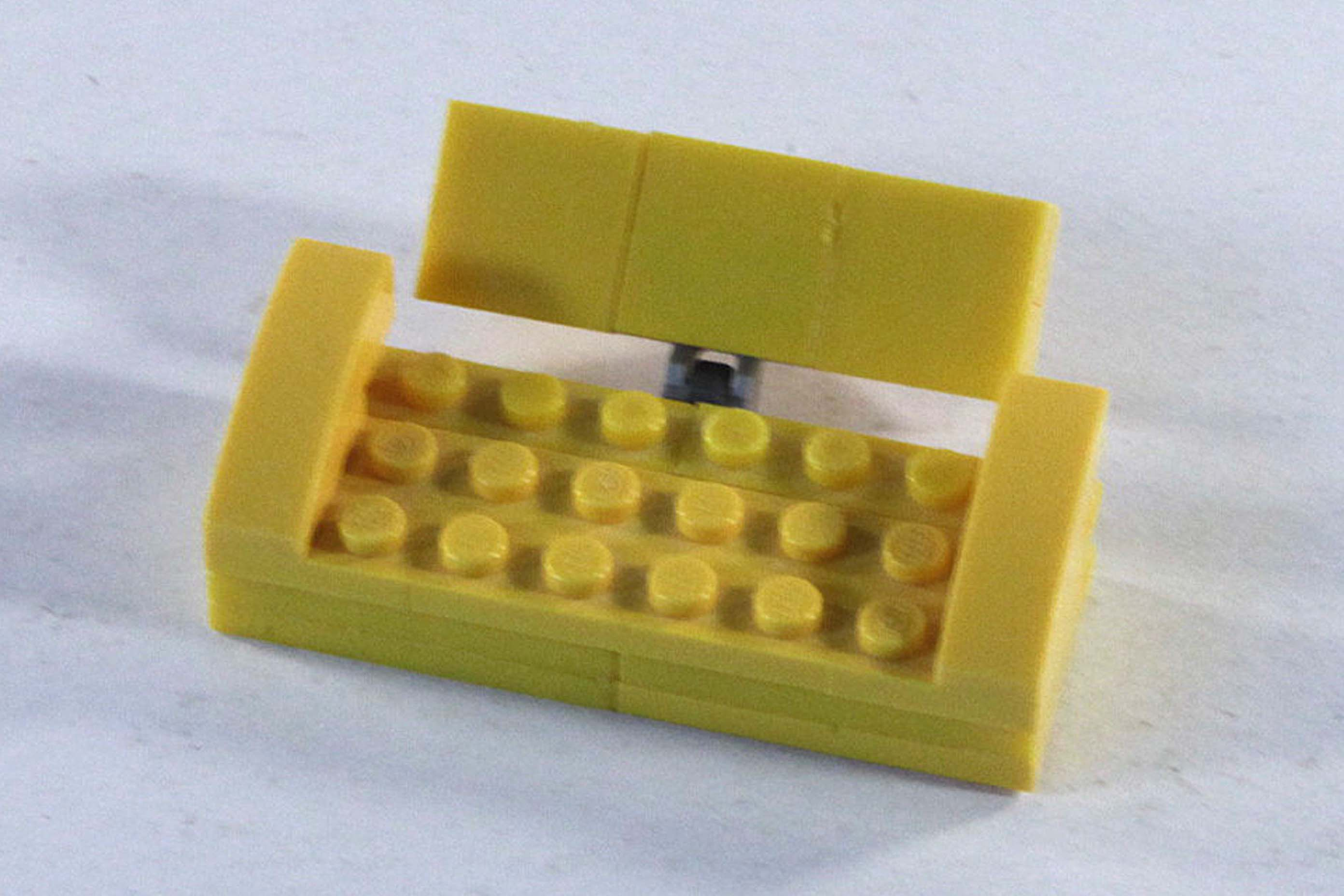 Fabulous Lego Ideas Yellow Sofa Bed Squirreltailoven Fun Painted Chair Ideas Images Squirreltailovenorg
