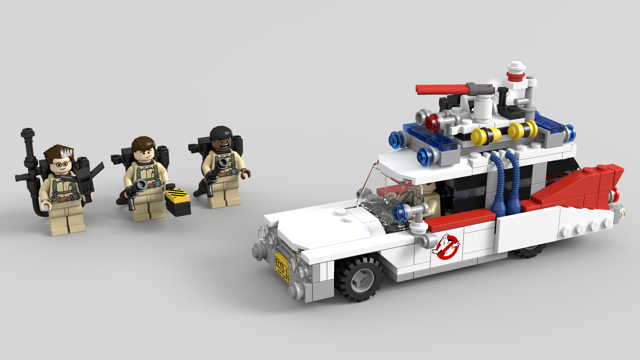 lego ideas product ideas ghostbusters ecto 1 ecto 1a. Black Bedroom Furniture Sets. Home Design Ideas