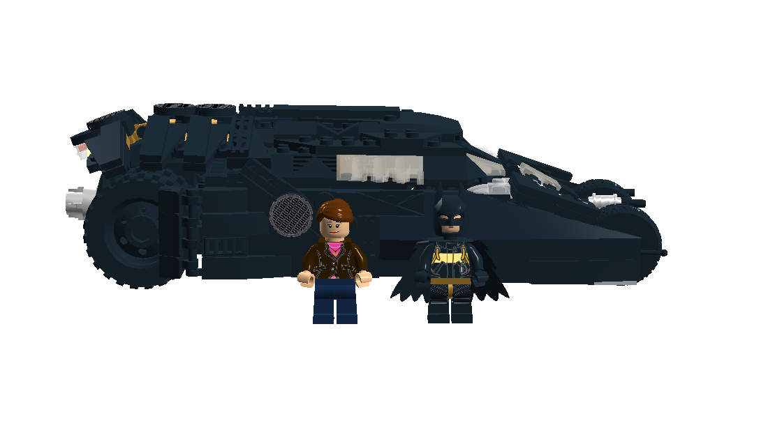 Lego Ideas Product Ideas Batman Tumbler With Batpod