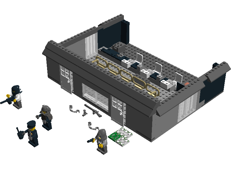 Lego Ideas Product Ideas City Bank Robbery