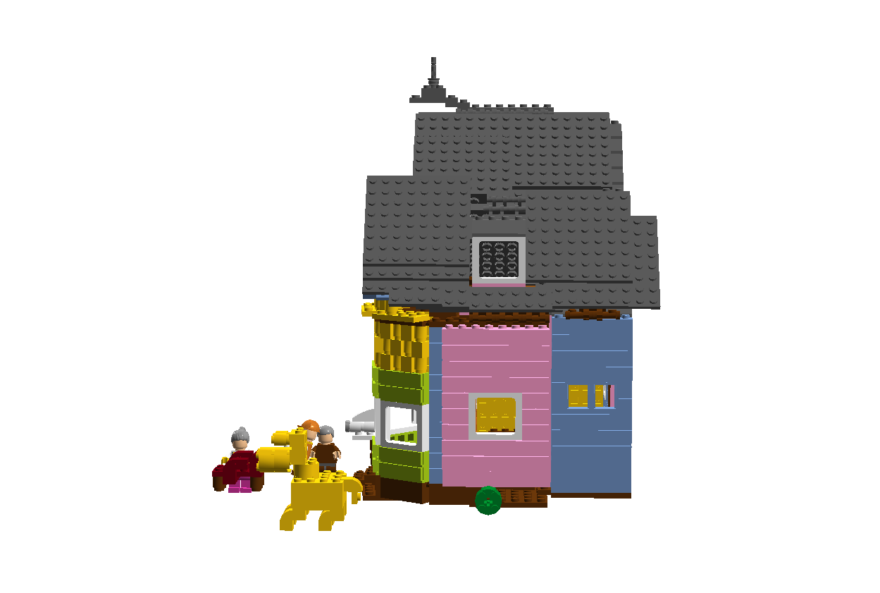 LEGO IDEAS - Product Ideas - Carl and Ellie's house from ... Up House Pixar Drawing
