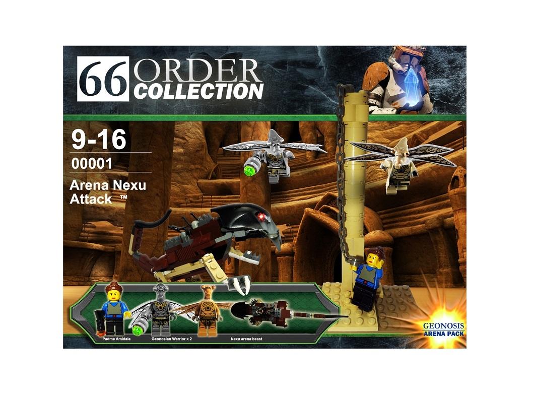 Lego Ideas Product Ideas Lego Star Wars Arena Nexu Attack