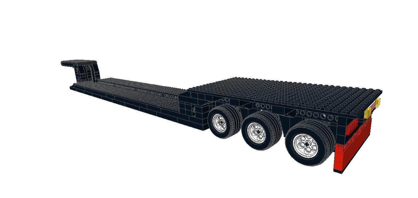 LEGO IDEAS - Product Ideas - 50 Ton Lowboy Trailer