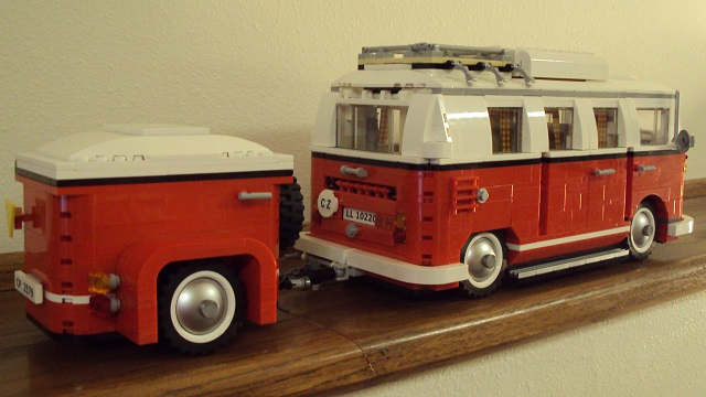 lego vw camper van trailer my lego vw split screen barn. Black Bedroom Furniture Sets. Home Design Ideas