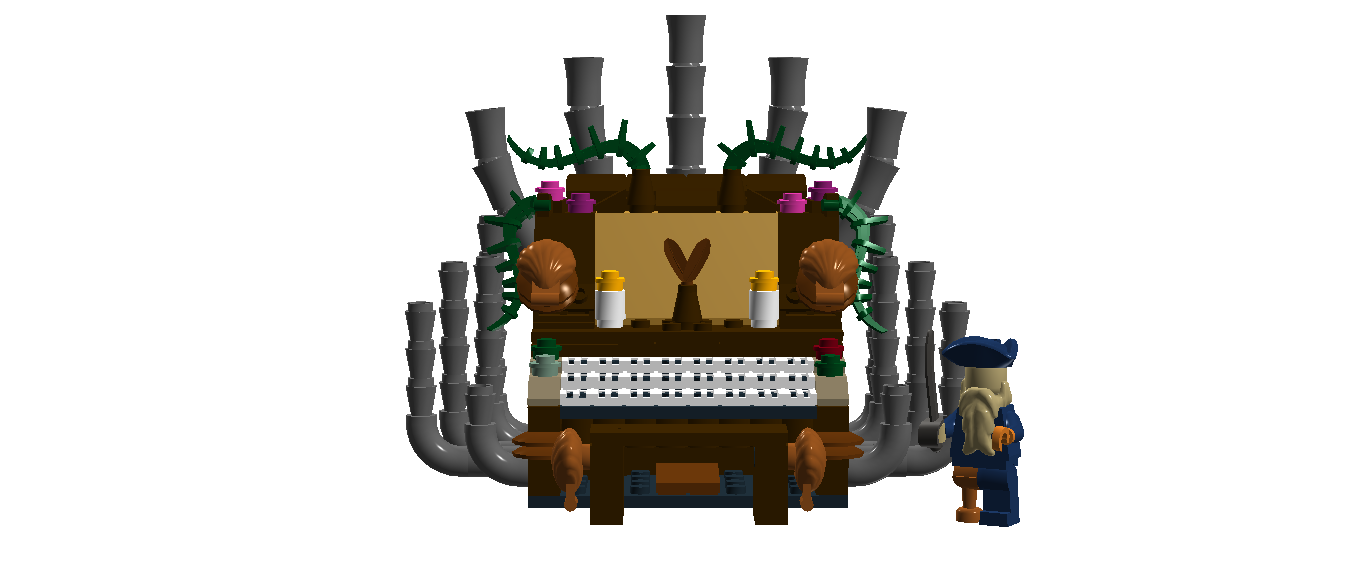 Lego Ideas Product Ideas Davy Jones Organ