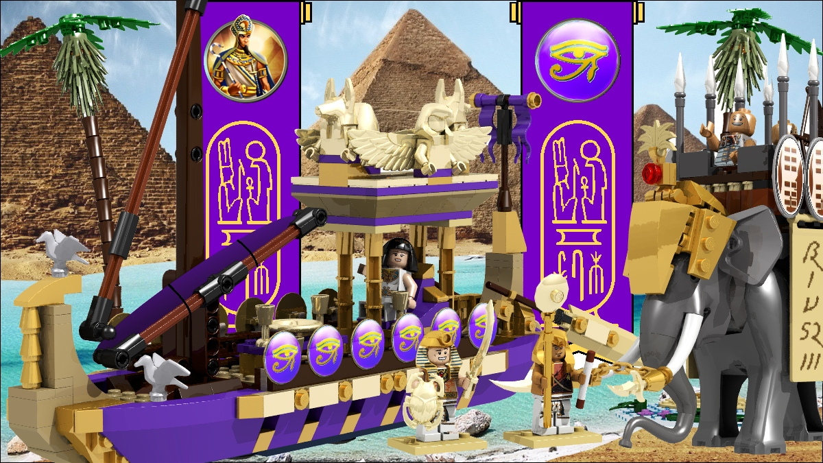 LEGO IDEAS - Product Ideas - Level 3: Ramesses The Great