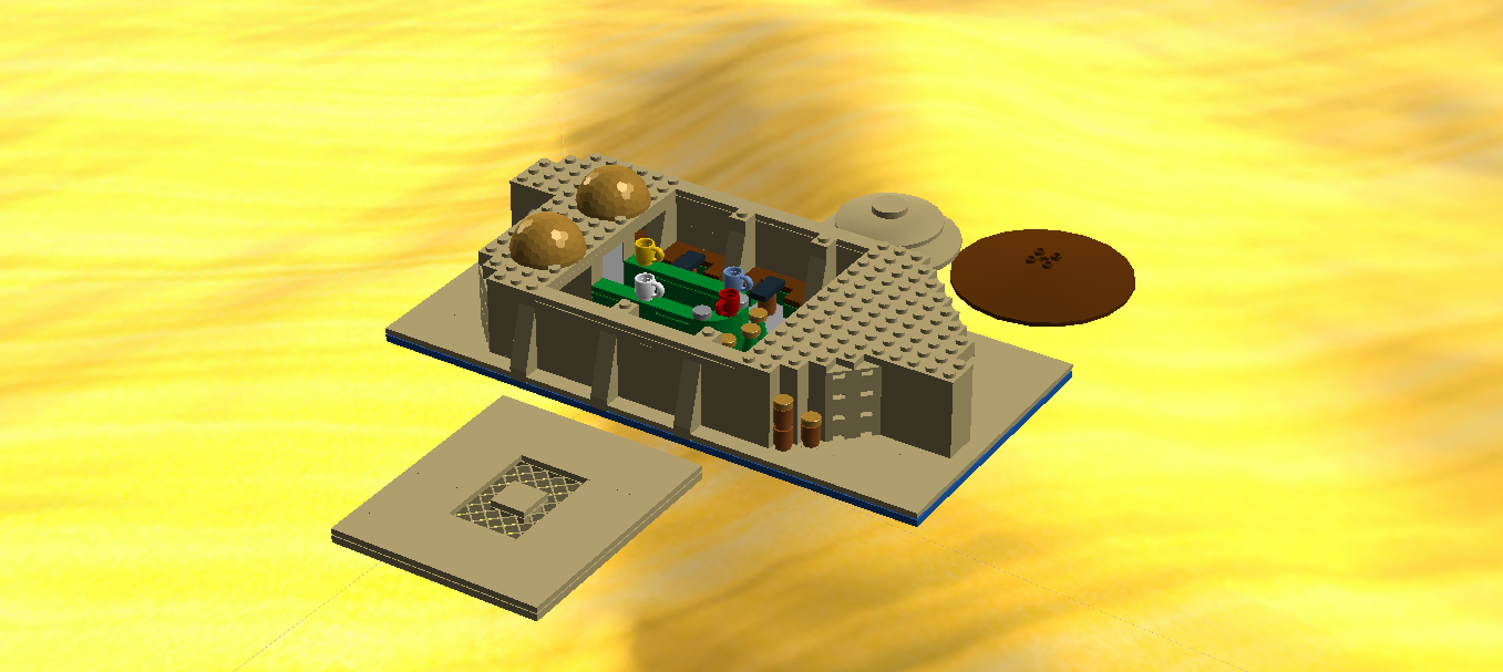 Lego Ideas Product Ideas Mos Eisley Cantina And