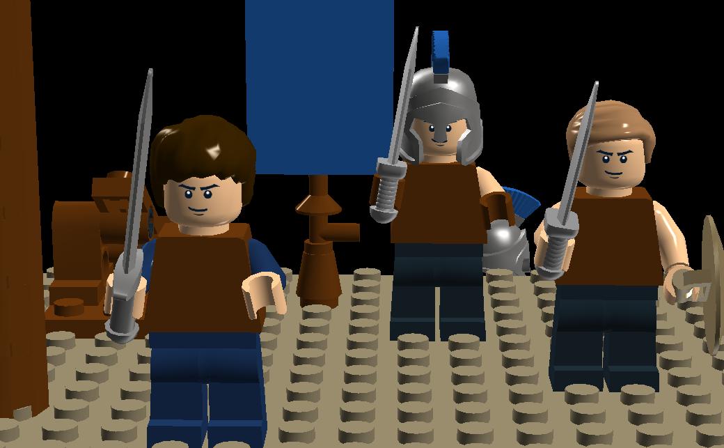 LEGO IDEAS - Percy Jackson & the Olympians: The Lightning ...  Lego Percy Jackson Luke