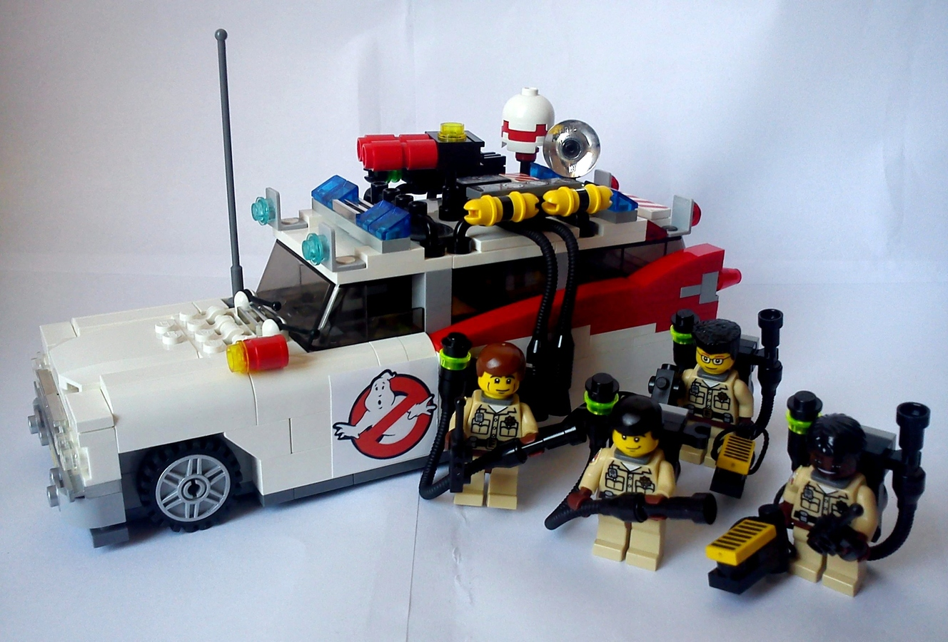 lego ideas product ideas ghostbusters ecto1 by kenta974. Black Bedroom Furniture Sets. Home Design Ideas