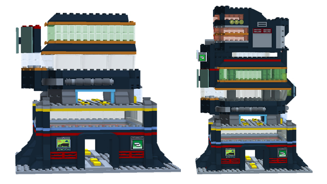 Lego Ideas Product Ideas Simcity Mega Tower