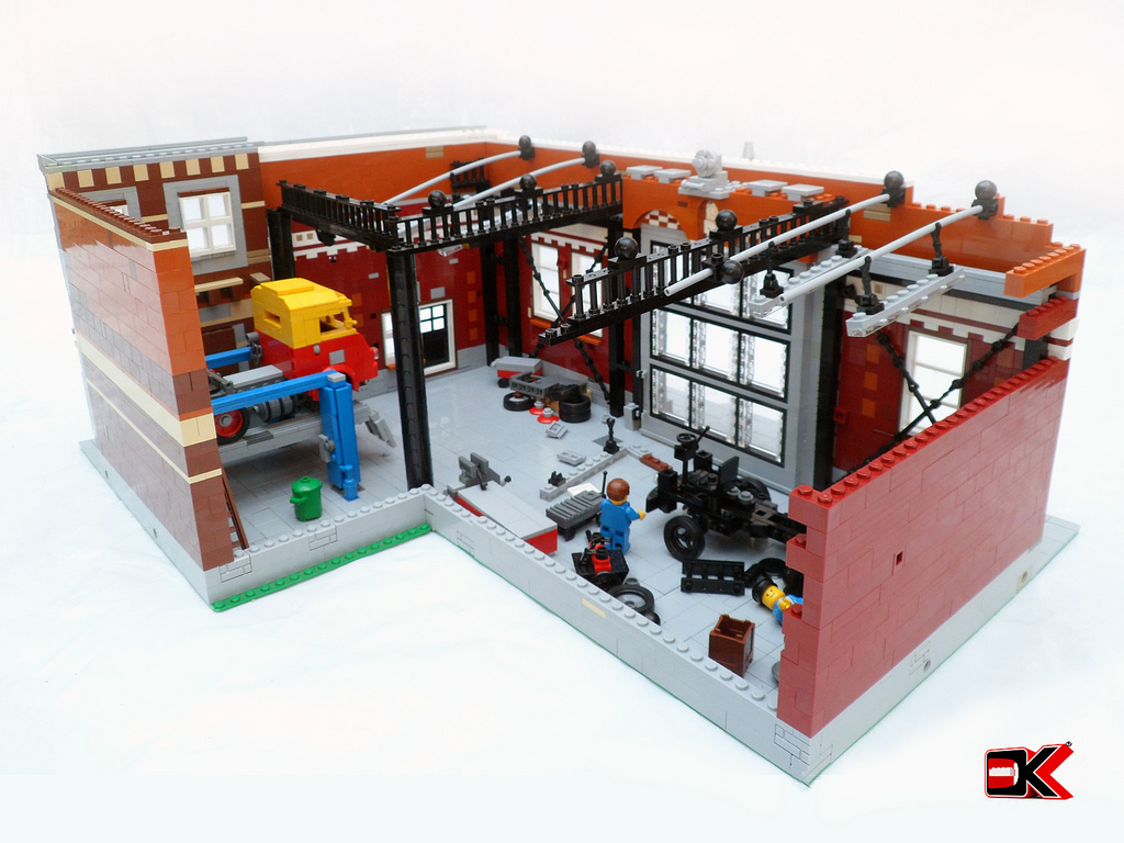 Lego Ideas Product Ideas Modular Garage Building